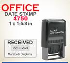DATTRO4750 - Trodat 4750 Office Die Plate Dater