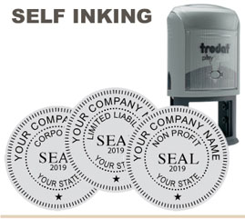 Trodat 46040 Corporate Inking Rubber Stamp 1 5 8
